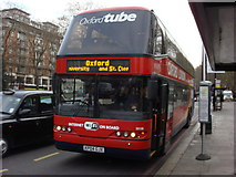 TQ2780 : Oxford Tube Coach on Park Lane by Oxyman