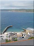 SW3526 : Sennen Cove harbour from Maria's Lane by Rod Allday