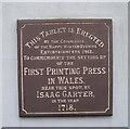 SN3040 : First Printing Press in Wales by Marion Phillips