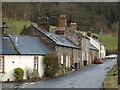 NX8093 : Homes in Tynron by Darrin Antrobus