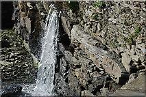 SH5837 : Nant Portmeirion A Stream by Alan Fryer