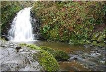 J3996 : Glenoe waterfall (30) by Albert Bridge