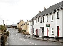 J3996 : Houses, Glenoe (2) by Albert Bridge