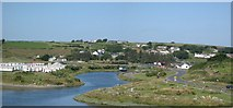X4398 : Mahon River and Bunmahon from Knockmahon by Hector Davie