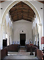 TF9308 : St Mary's church - view west by Evelyn Simak