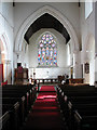 TF9109 : St Andrew's Church - view east by Evelyn Simak