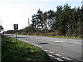 TG2136 : View southwest along the A140 by Evelyn Simak