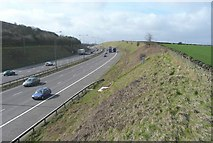 SE1220 : The M62, Fixby by Humphrey Bolton