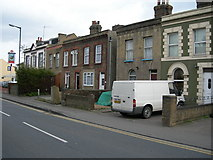 TQ7369 : Houses and Pub, Cuxton Road, Strood by Danny P Robinson