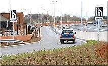 J3373 : The Westlink, Belfast (14) by Albert Bridge