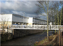 NT4935 : Footbridge over the Gala Water by Walter Baxter