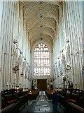 ST7564 : Bath Abbey interior by Brian Robert Marshall