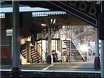 SX9193 : Platform 1, Exeter St David's by Derek Harper