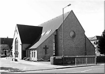 TQ1884 : St James Church Centre, Stanley Avenue, Alperton, HA0 4JB by John Salmon