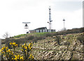 TR3342 : Coastguard radar station, Dover (1) by Stephen Craven