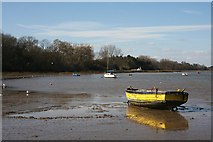 TM2038 : River Orwell at Pin Mill by Bob Jones