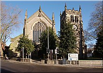 SK3436 : The former St Werburgh's Church by Jerry Evans