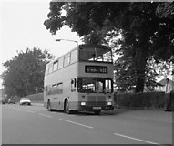 TQ3355 : Caterham (Westway Common) bus terminus by Dr Neil Clifton