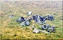 NA0900 : Aircraft wreckage on Conachair by Des Colhoun