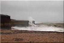 TR3140 : Admiralty Pier, Dover, from Shakespeare Beach by John Mavin