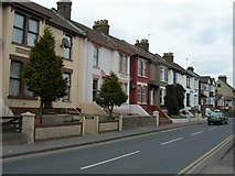 TQ7369 : Houses on Cuxton Road, Strood by Danny P Robinson