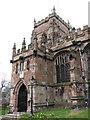 SJ4847 : St. Oswald's Church, Malpas by BrianPritchard