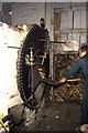 SP4115 : Stoking the boiler, Combe Saw Mill by Chris Allen