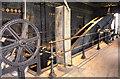 SK1108 : Beam of Cornish pump, Sandfields. by Chris Allen