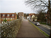 SU8605 : North Walls, Chichester by Peter Holmes