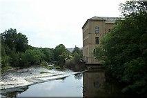 SE1338 : Salt's Mill at Saltaire by Elliott Simpson