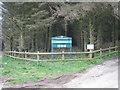 SW9869 : Entrance to Hustyn Wood by Rod Allday