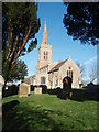TL1183 : St Michael's between the Yew Trees by Michael Trolove
