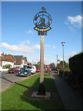 TQ8431 : Rolvenden Village Sign by Oast House Archive
