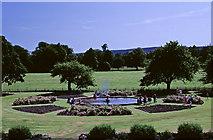 NH7389 : Rose Garden, Skibo Castle, nr Dornoch, Sutherland by Christine Matthews