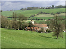 SU8695 : St Michael & All Angels Church, Hughenden, Buckinghamshire by Christine Matthews