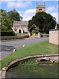 SO9537 : Overbury Church by Philip Halling