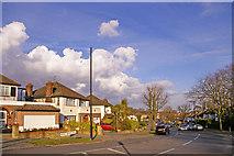 TQ3095 : Prince George Avenue, London N14 by Christine Matthews