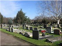 TQ4666 : All Saints Churchyard, Orpington by Ian Capper