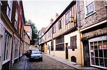TG2308 : Elm Hill, Norwich by Keith Edkins