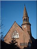 NS5564 : Ibrox Church by Lynn M Reid
