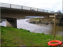 TQ0102 : A259 Road Bridge by Simon Carey