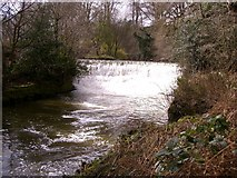 SJ8382 : Weir at Quarry Bank Mill by Peter Fuller