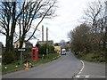 SX1084 : Junction in Trefrew by Derek Harper