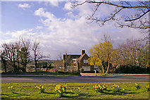 TQ2996 : Farmhouse, Bramley Road, Enfield by Christine Matthews