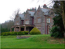 SO1321 : Buckland Hall, Bwlch,  the West Front by Richard Fensome