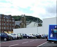 NS3174 : Tesco Extra Port Glasgow by Thomas Nugent