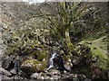 NY4811 : Small waterfalls emptying into Haweswater by Tom Pennington