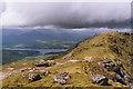 NN3237 : View north west from Beinn Dorain by Nigel Brown