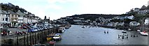 SX2553 : Looe River - Panorama looking South by Rob Farrow