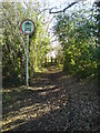 TQ4562 : Byway east of Cudham Lane North by Lindsey Coates